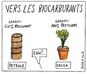 biocarburants, agrocarburants